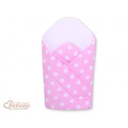 Zavinovačka s výztuží Bobono COLOR MIX - velké puntíky na růžovém