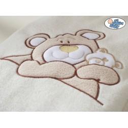 Dětské deka kolekce MÉĎA BARNABÁŠ - krémová