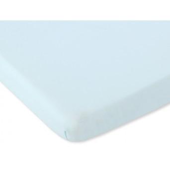 Bavlněné prostěradlo 140x70 cm - světle mátová