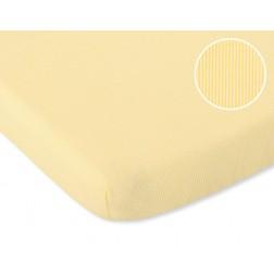 Bavlněné prostěradlo 120x60 cm - světle mátová