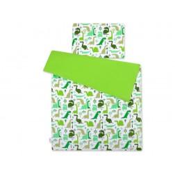 Povlečení JUNIOR 2 díly - dinosauři zelení