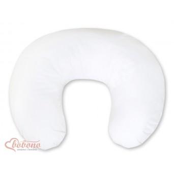 Kojící polštář se snímatelným potahem - bílý