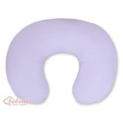 Kojící polštář se snímatelným potahem - fialový