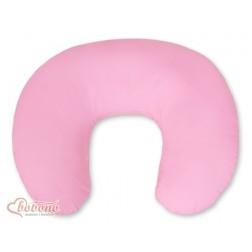 Kojící polštář se snímatelným potahem - růžový