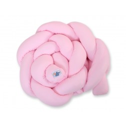 Mantinel pletený do copu MAGIC LOOP - růžový