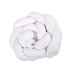 Mantinel pletený do copu MAGIC LOOP - bílý