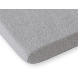 Prostěradlo froté do postele 200x80 cm - šedé