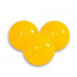 Plastové míčky do suchého bazénu 50 ks - žlutá