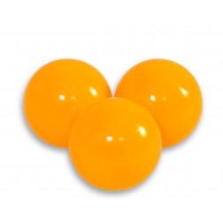 Plastové míčky do suchého bazénu 50 ks - pomerančová