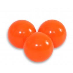 Plastové míčky do suchého bazénu 50 ks - oranžová