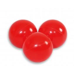 Plastové míčky do suchého bazénu 50 ks - červená