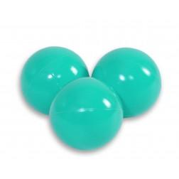 Plastové míčky do suchého bazénu 50 ks - tyrkysová