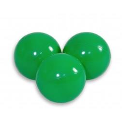 Plastové míčky do suchého bazénu 50 ks - zelená