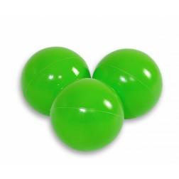 Plastové míčky do suchého bazénu 50 ks - světle zelená