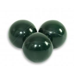 Plastové míčky do suchého bazénu 50 ks - tmavě zelená