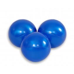 Plastové míčky do suchého bazénu 50 ks - perleťově modrá