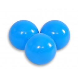Plastové míčky do suchého bazénu 50 ks - modrá
