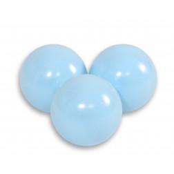 Plastové míčky do suchého bazénu 50 ks - světle modrá