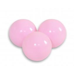 Plastové míčky do suchého bazénu 50 ks - světle růžová