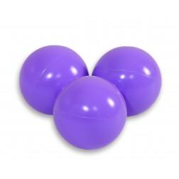 Plastové míčky do suchého bazénu 50 ks - levandulová