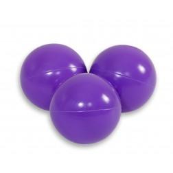 Plastové míčky do suchého bazénu 50 ks - fialová