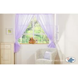 Závěsy do dětského pokoje MILO - fialové