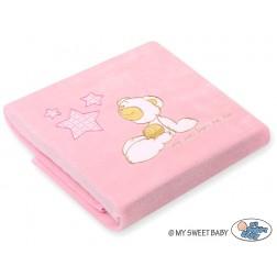 Dětská deka kolekce CARLO - růžová
