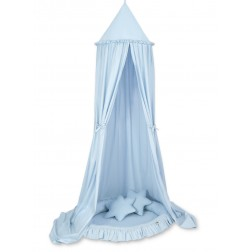 Nebesa + hnízdo + polštářky - modrá