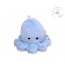 Chobotnice malá s chrastítkem - modrá