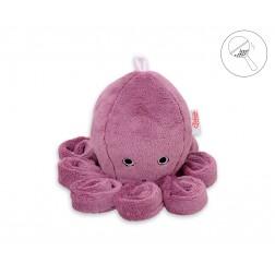 Chobotnice malá s chrastítkem - starorůžová
