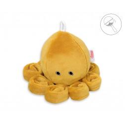 Chobotnice malá s chrastítkem - hořčicová