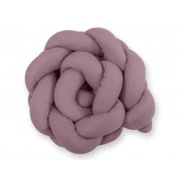 Mantinel pletený do copu MAGIC LOOP - retro růžová
