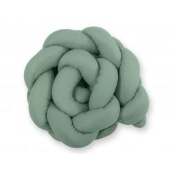 Mantinel pletený do copu MAGIC LOOP - retro zelená
