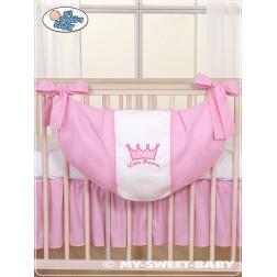 Taška na hračky kolekce KORUNA - růžová