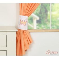 Závěsy do dětského pokoje KORUNA - meruňkové