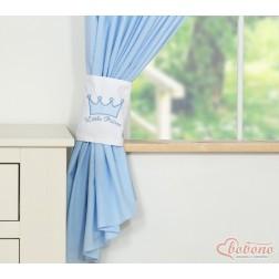 Závěsy do dětského pokoje KORUNA - modré