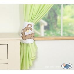 Závěsy My Sweet Baby - BARNABÁŠ - zelený