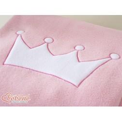 Dětská deka kolekce KORUNA - růžová