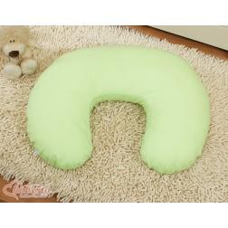 Náhradní povlak na kojící polštář - zelený