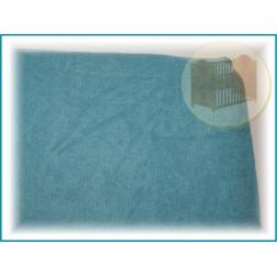 Prostěradlo froté do postýlky 120x60 cm - mořská modrá