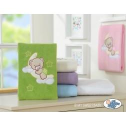 Dětská deka kolekce DOBROU NOC - zelená