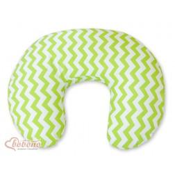 Náhradní povlak na kojící polštář - SIMPLE CHEVRON zelený