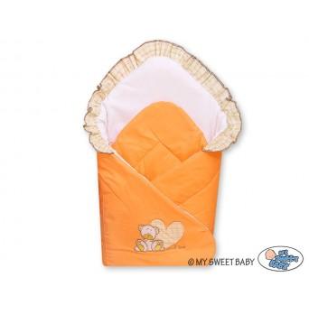 Zavinovačka s výztuží MILO - sytě oranžová