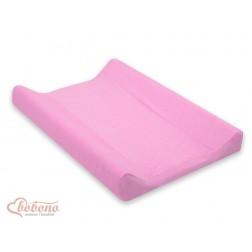 Froté povlak na přebalovací podložku 70x50 cm-5 -růžová