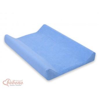 Froté povlak na přebalovací podložku 70x50 cm-8 -modrá